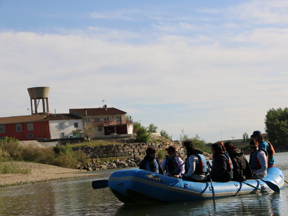 Un proyecto para mitigar el riesgo de inundación en la Ribera Alta del Ebro