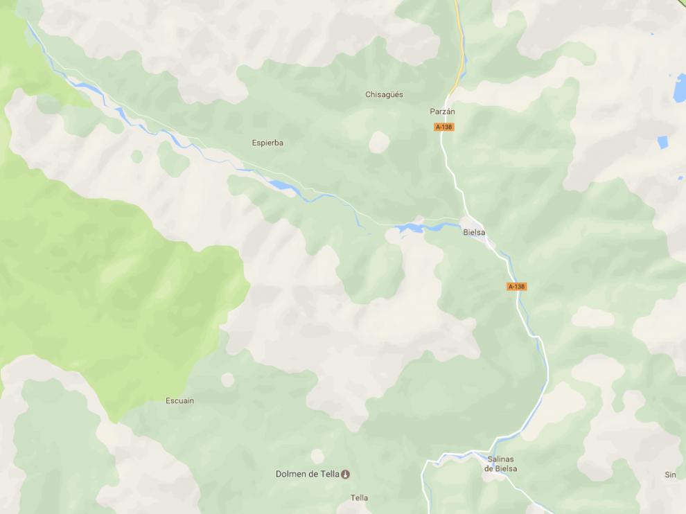 El accidente se ha producido en el término municipal de Bielsa (Huesca).