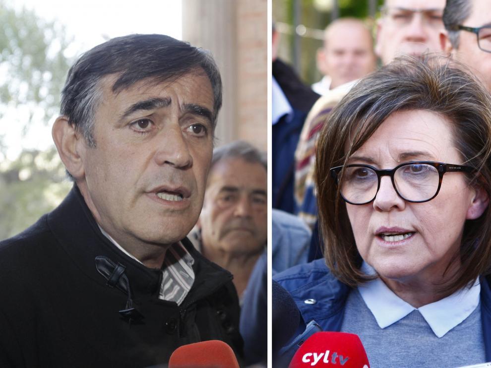 Antonio Pardo y Marimar Angulo han sido proclamados este viernes precandidatos a la presidencia Provincial del Partido Popular de Soria