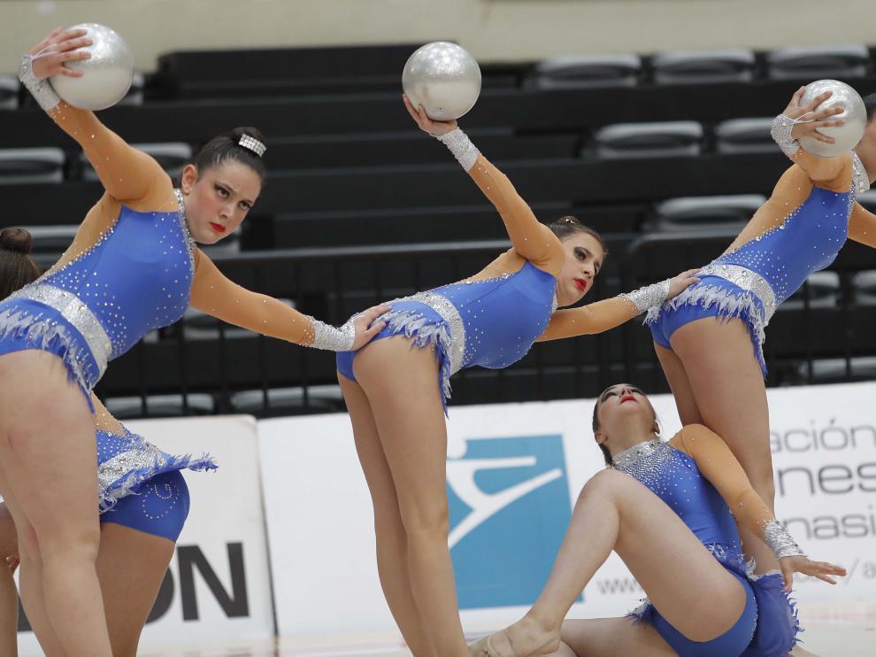 Fase final del torneo de promoción y base Individual de gimnasia rítmica