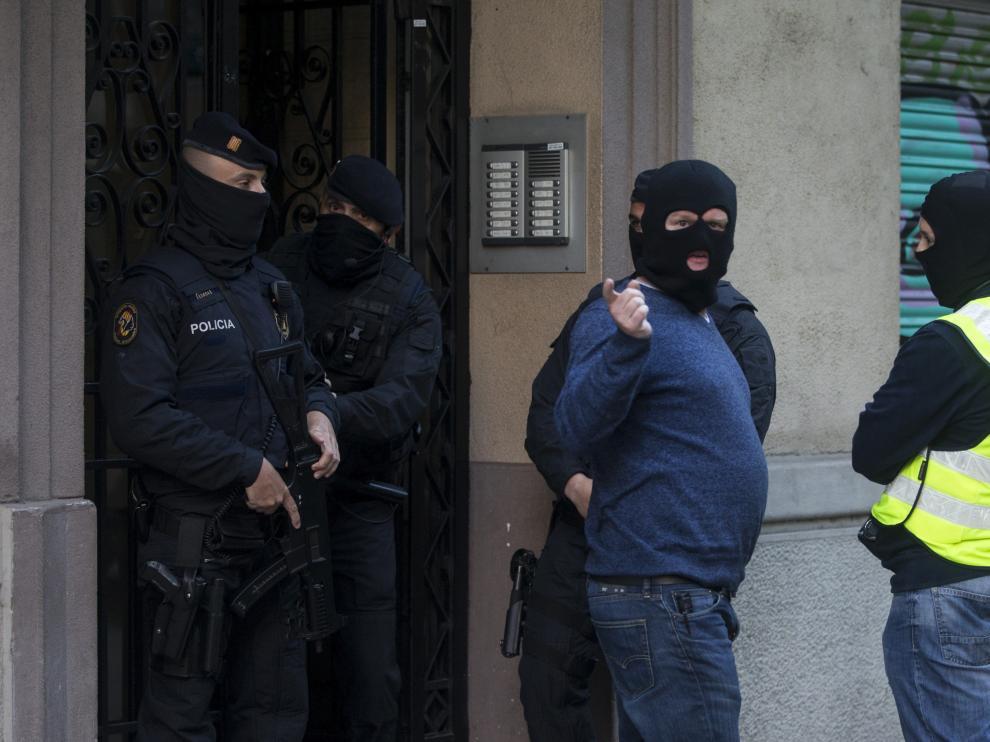 Detenidos en Barcelona, relacionados con los atentados de Bruselas