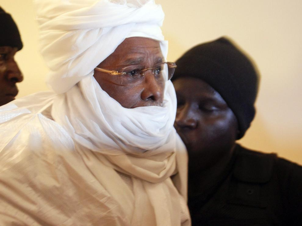 El exdictador de Chad, Hissène Habré