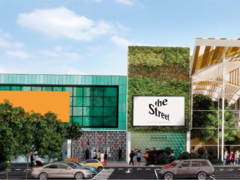 El Centro Comercial Plaza Imperial se transformará en 'una calle' de outlets