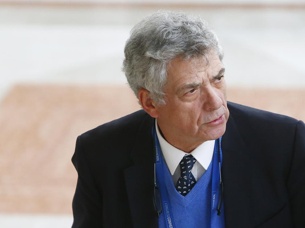 Ángel María Villar, presidente de la RFEF, en una imagen de archivo.