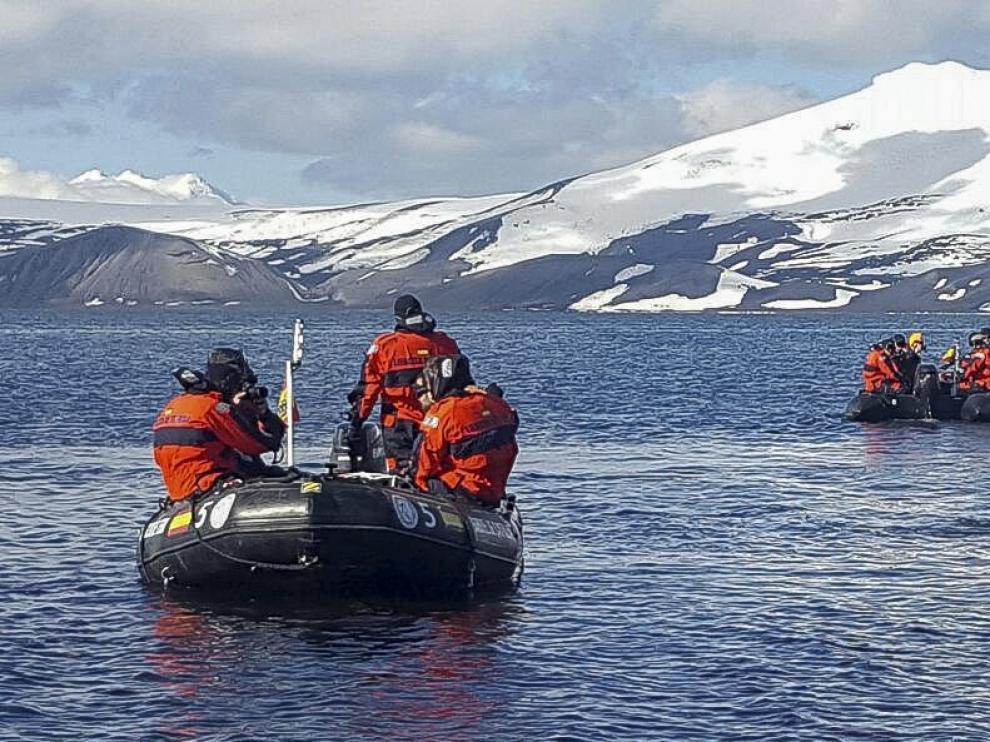 Una campaña a la Antártida