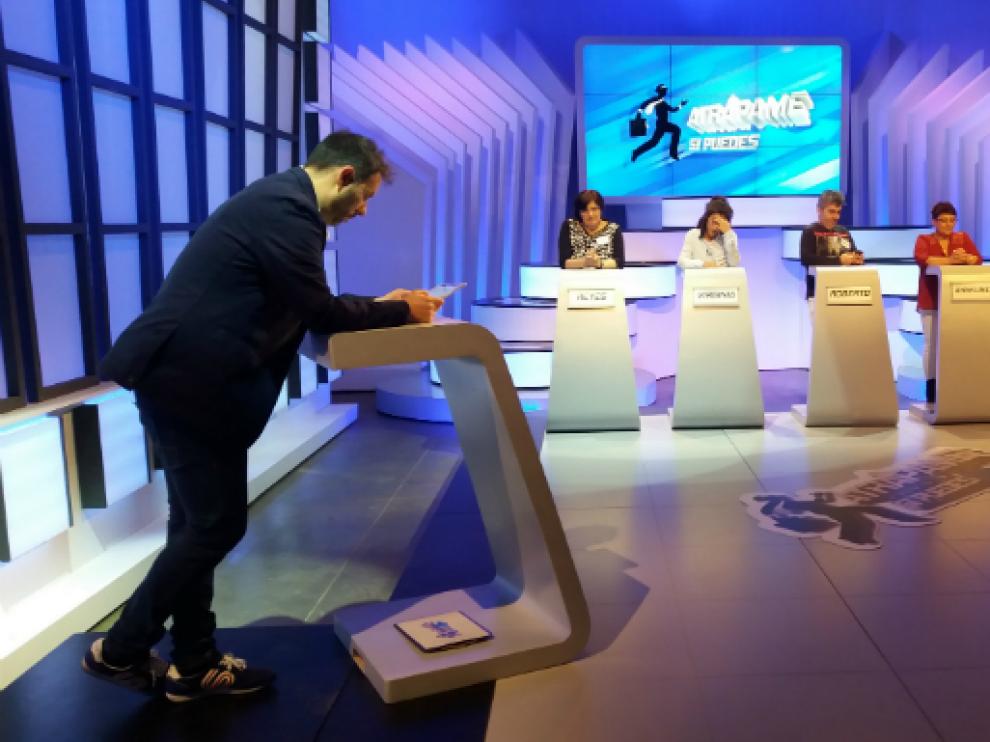 El programa de Aragón TV 'Atrápame si puedes... esta noche'.