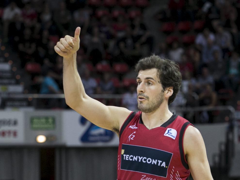 Tomás Bellas, durante un partido esta temporada.