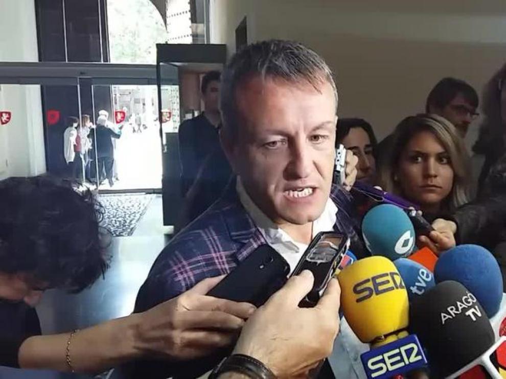El concejal de Cultura del Ayuntamiento, Fernando Rivarés.