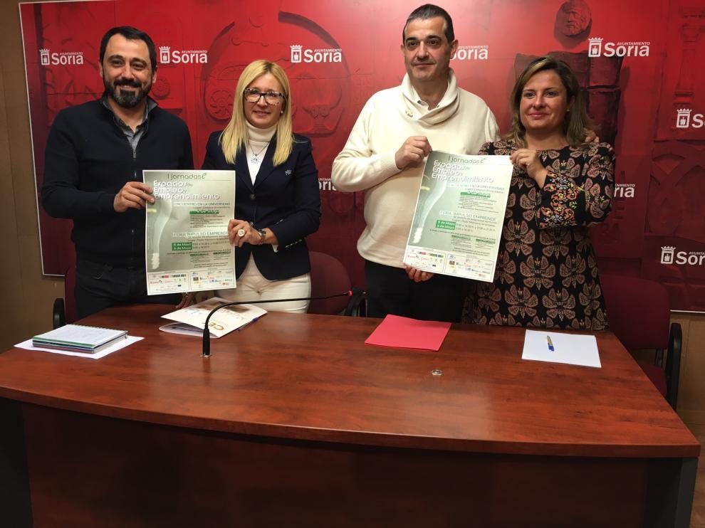 En ambos eventos colaboran el Ayuntamiento de Soria, la Diputación de Soria, la Universidad de Valladolid y la Cámara de Comercio.