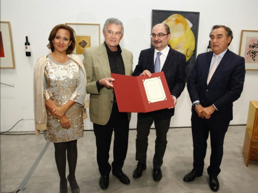Entrega del Premio de las Letras Aragonesas