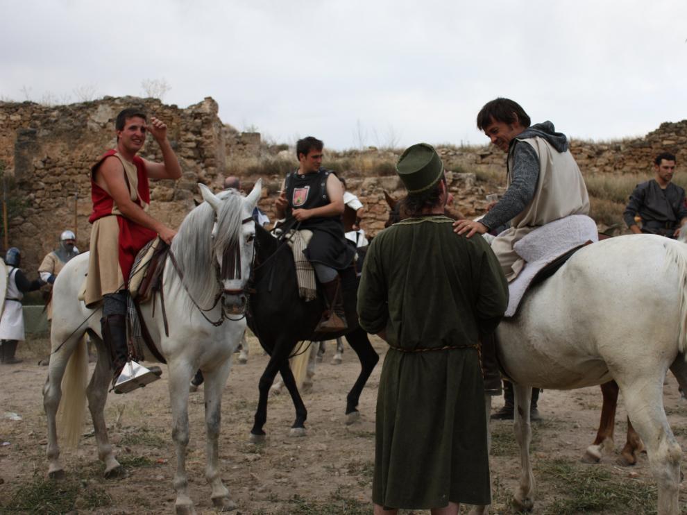 Cabalgada en el Encuentro con el Mío Cid.