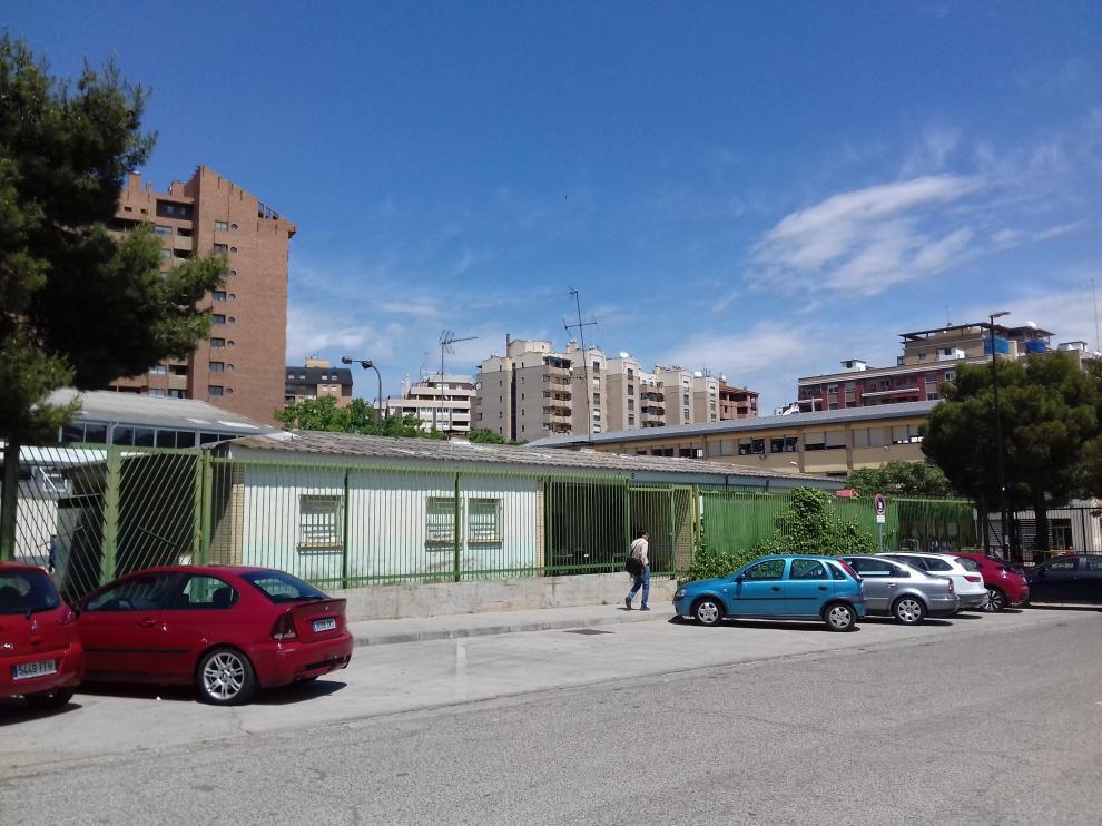 Casa del conserje del colegio Doctor Azúa, que podría utilizarse como espacio educativo.