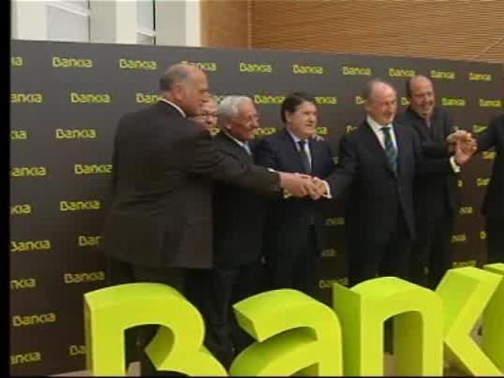 La excúpula de Bankia, ahora en el banquillo