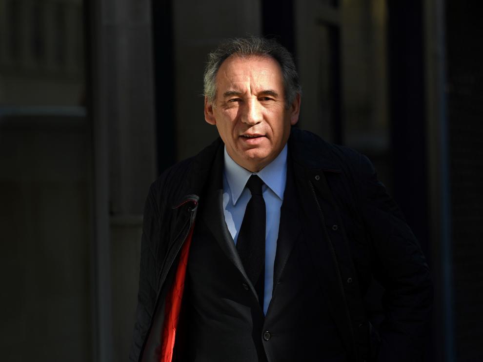 El centrista François Bayroy, este jueves en París.