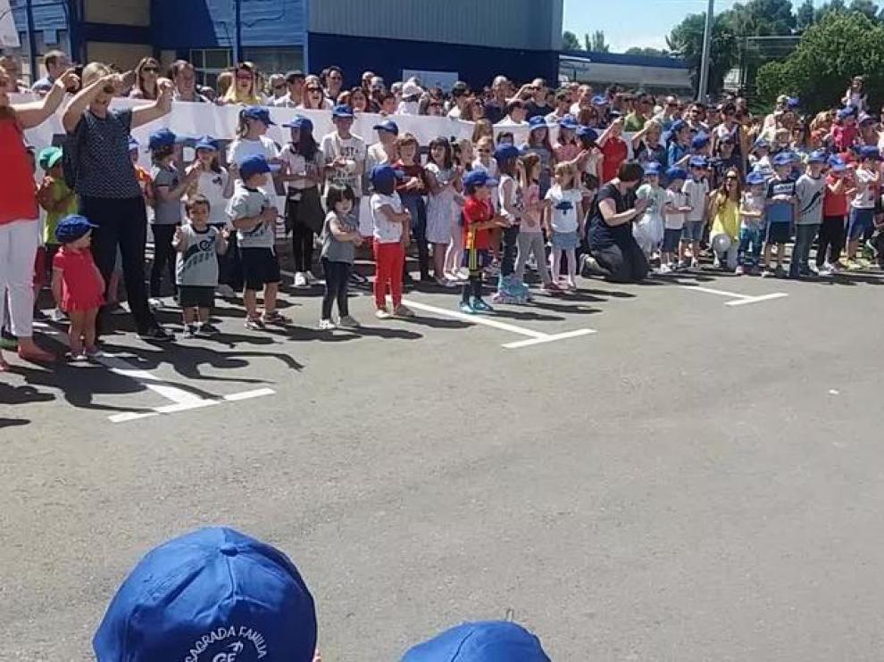 Imagen de archivo de una manifestación contra el cierre de aulas concertadas.