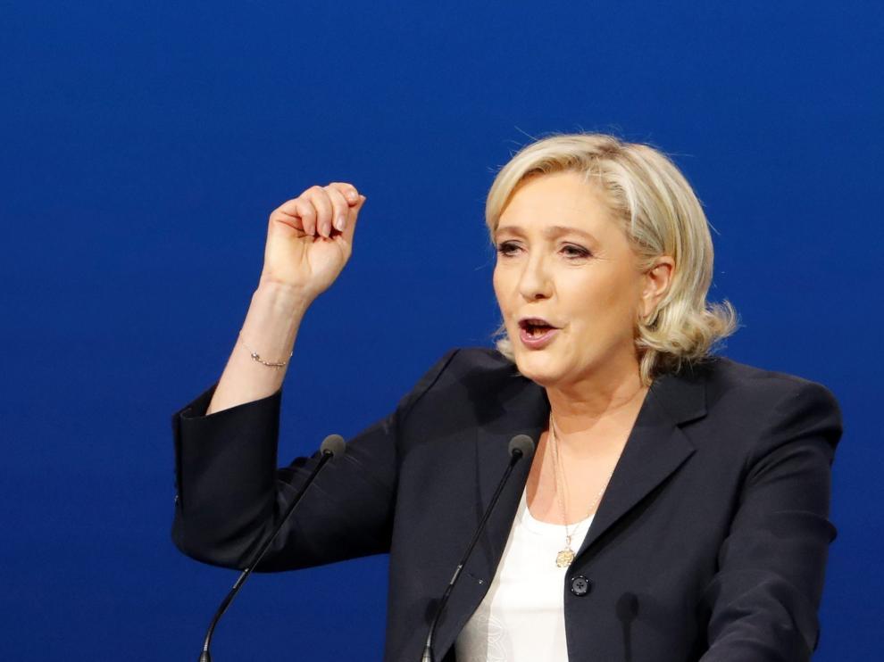 Marine Le Pen, en una foto de archivo.