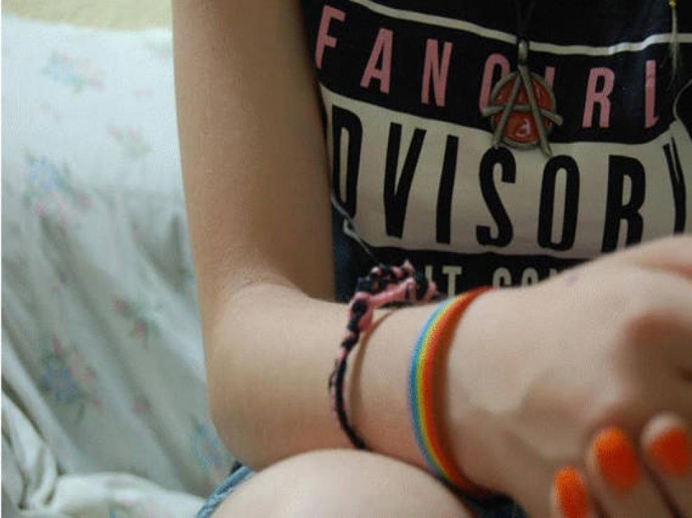 Imagen de una campaña contra el bullying.