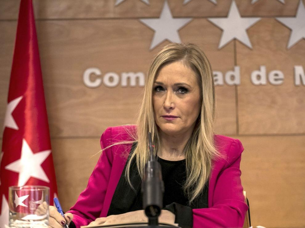 Cristina Cifuentes, en una foto de archivo.
