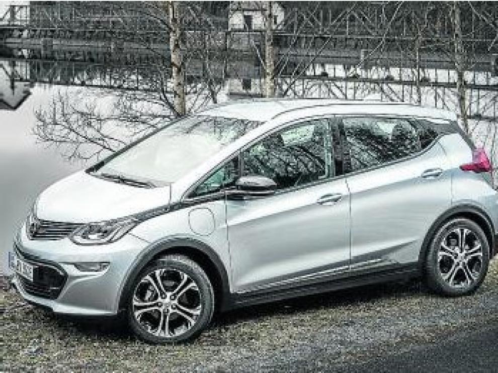 El nuevo Opel Ampera-e.