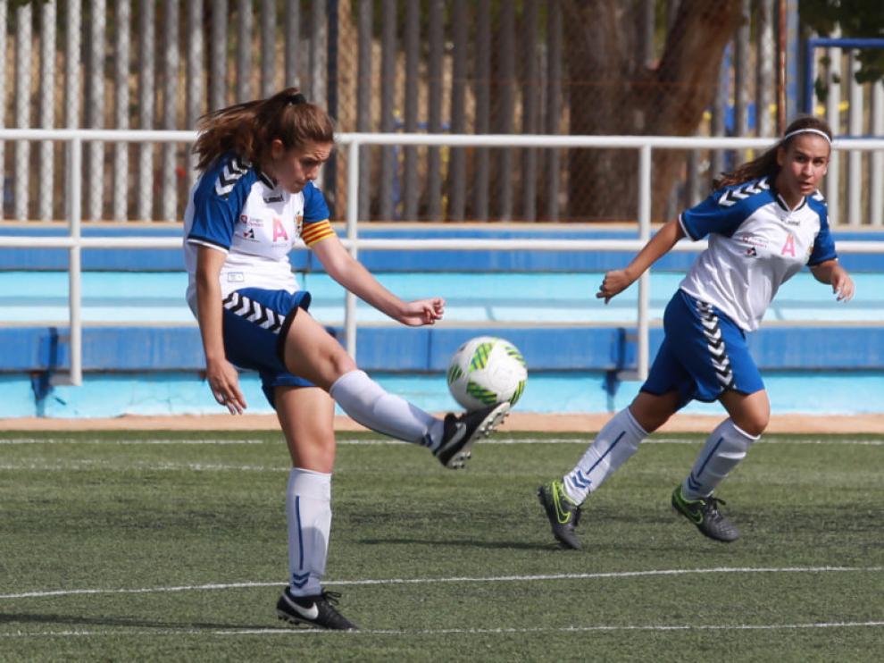 Una imagen de archivo del Zaragoza Femenino.