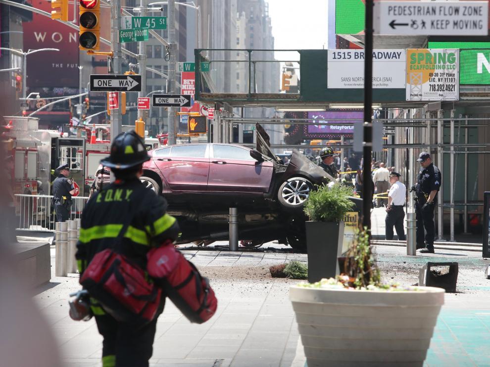 Al menos 13 heridos tras un atropello en Times Square