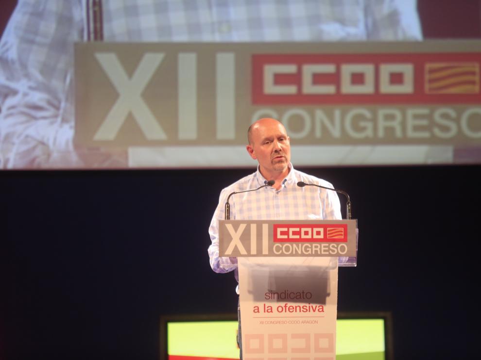 Manuel Pina, nuevo secretario de CC.OO.