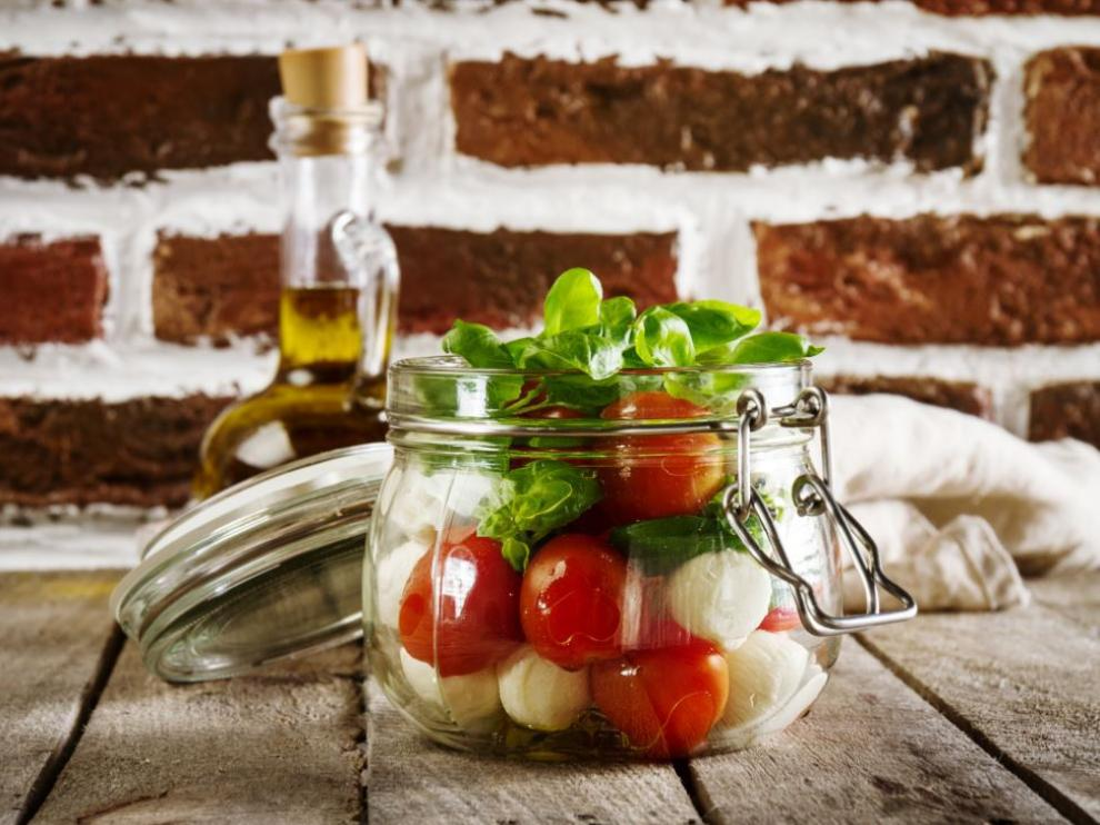 Las ensaladas son una de las opciones preferidas para el verano.