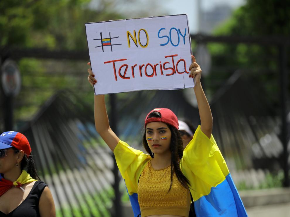 'Milenials', la nueva cara de las manifestaciones en Venezuela.