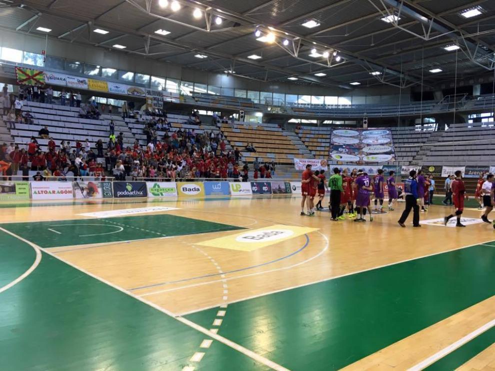 Imagen del Pabellón Municipal de Deportes.