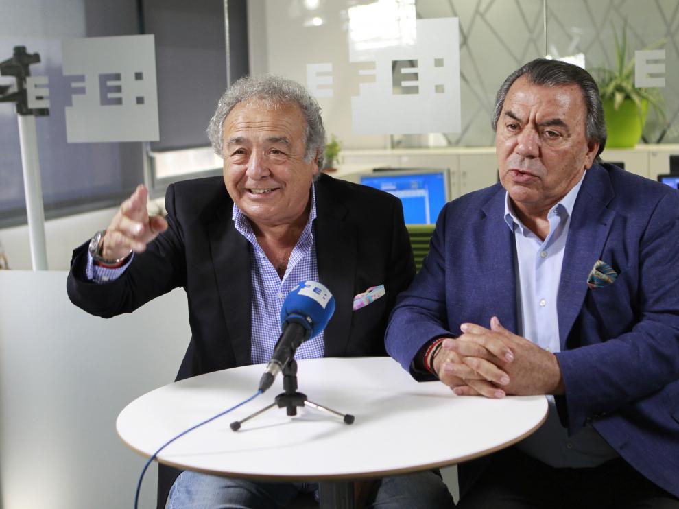 El dúo sevillano Los Del Río.
