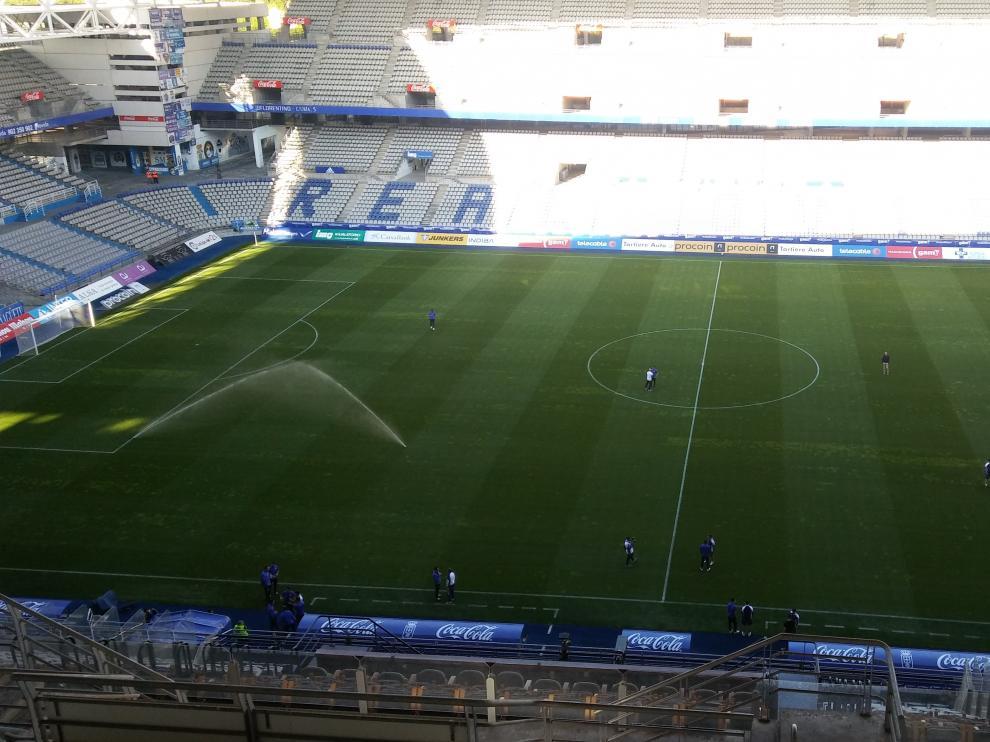 Estadio Carlos Tartiere de Oviedo.