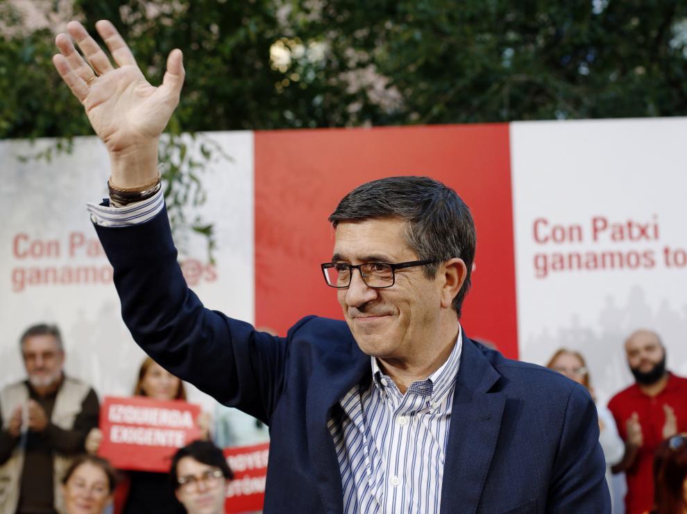 Patxi López, este viernes en Madrid