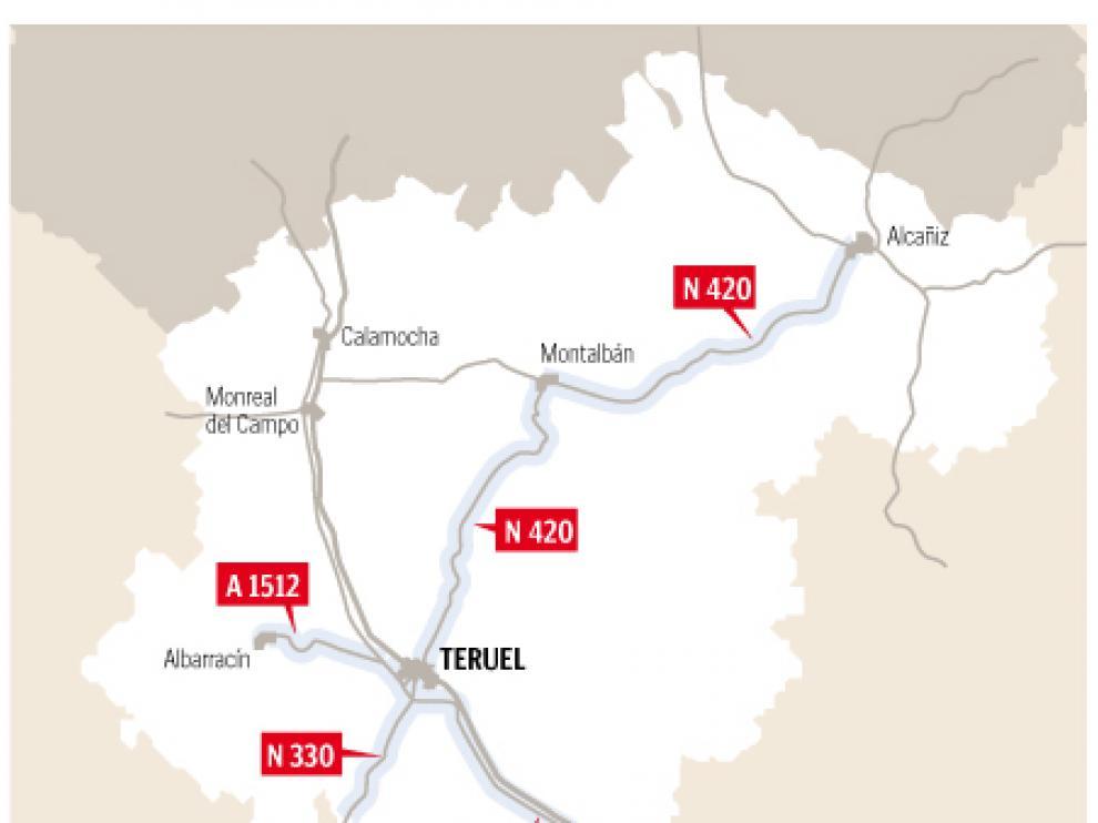 Las rutas de Teruel