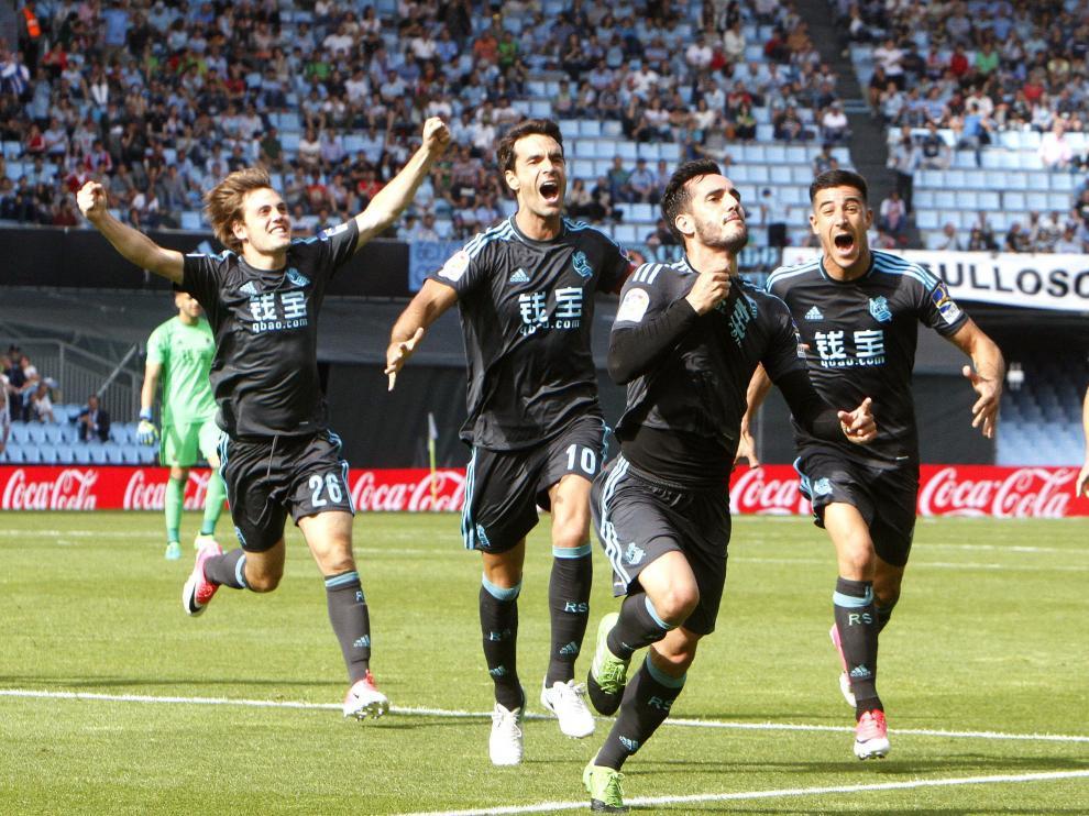 La Real ha anotado el gol del empate en el descuento.
