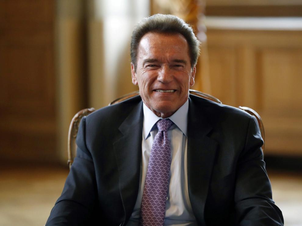 Arnold Schwarzenegger, actor, culturista y político.
