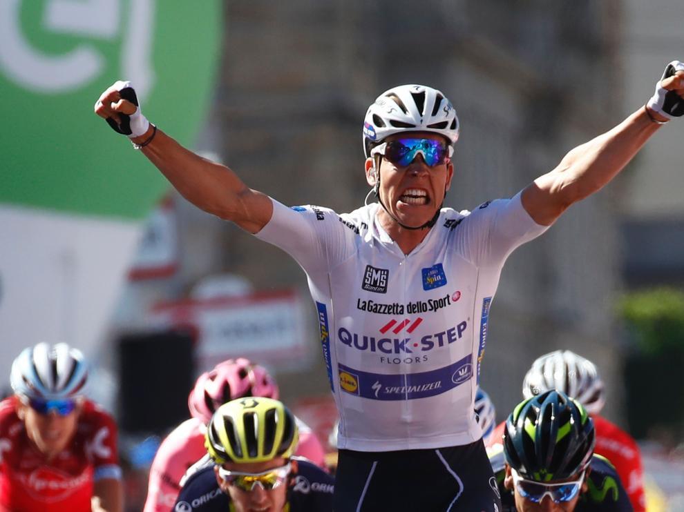El ciclista luxemburgués Bob Jungels, Quick Step Floors.