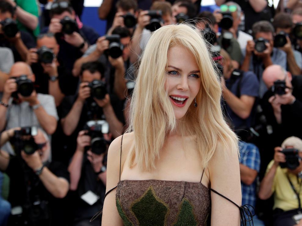 Nicole Kidman, en Cannes