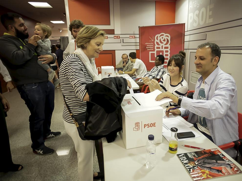 Primarias de PSOE, este domingo, en Zaragoza