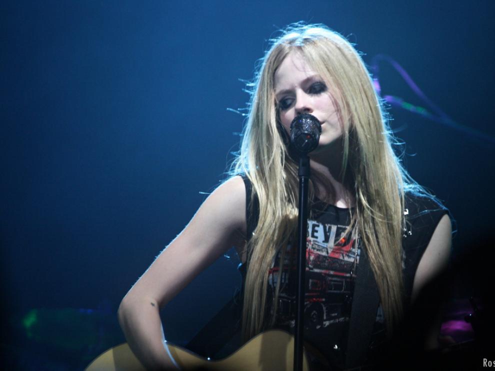 La cantante canadiense Avril Lavigne.