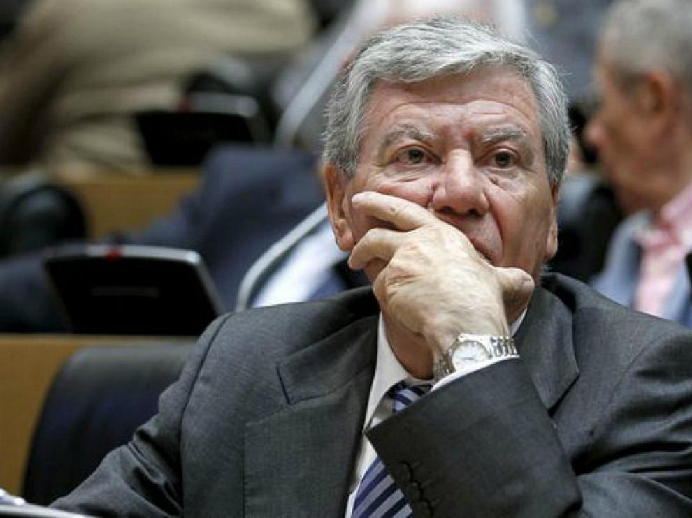José Luis Corcuera se da de baja en el PSOE.