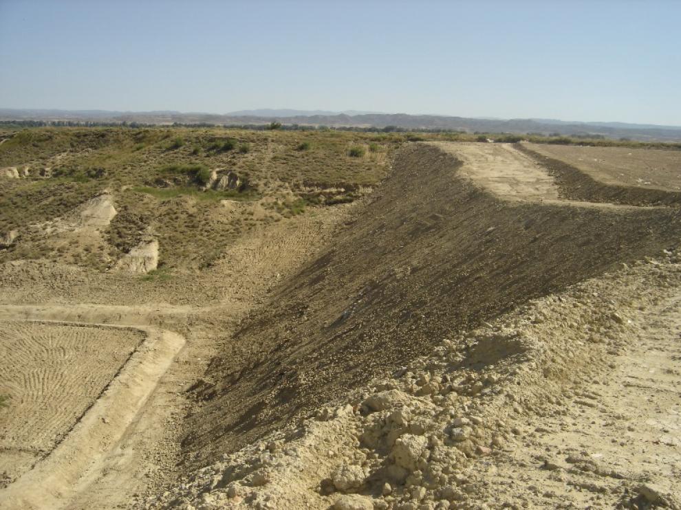 El parque de la Pedrera se ubicará en la antigua escombrera.