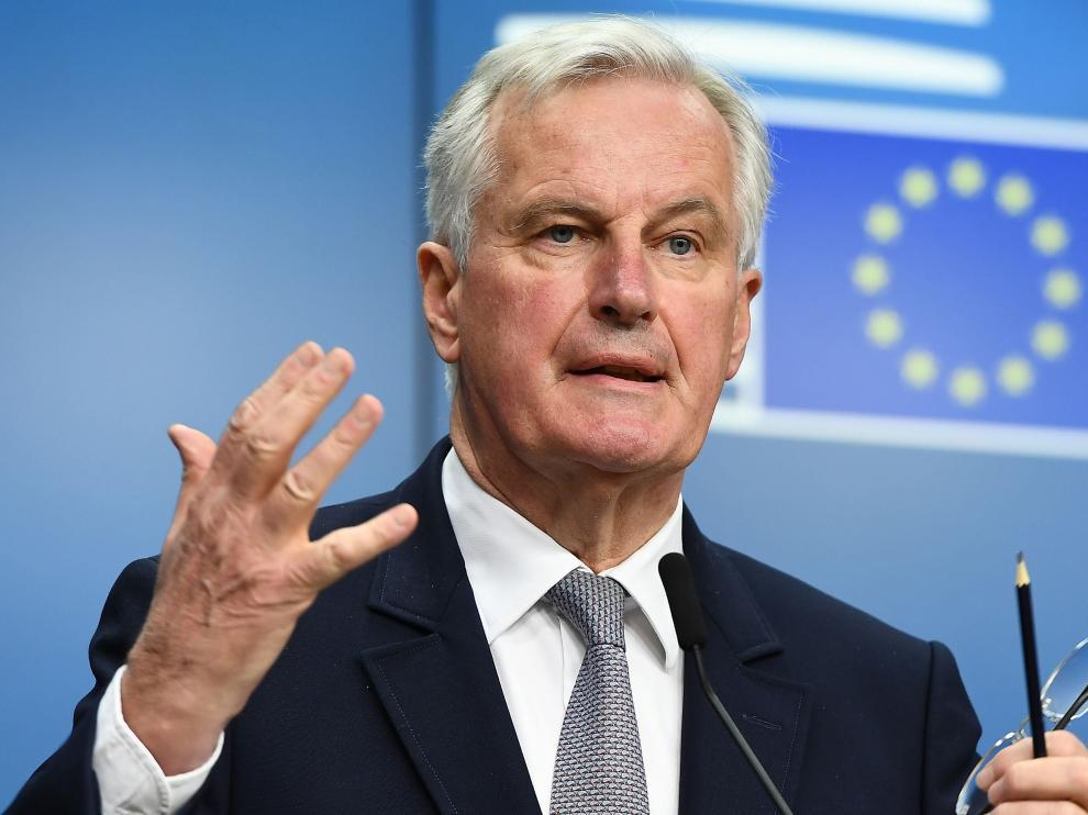 Michael Barnier, este lunes.