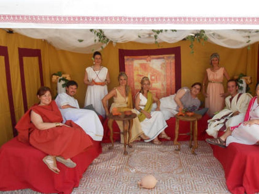 Imagen de una edición anterior de las Nonas de junio de Velilla.