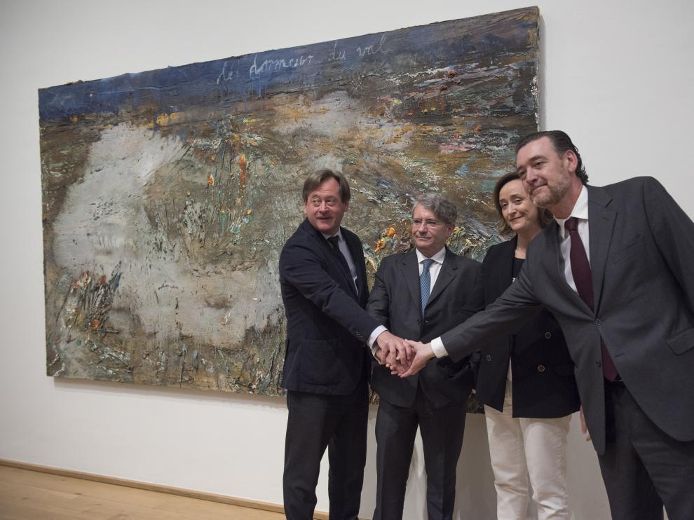 Miguel Zugaza, director del Museo de Bellas Artes de Bilbao, ha presentado este martes la exposición de la colección de Alicia Koplowitz.