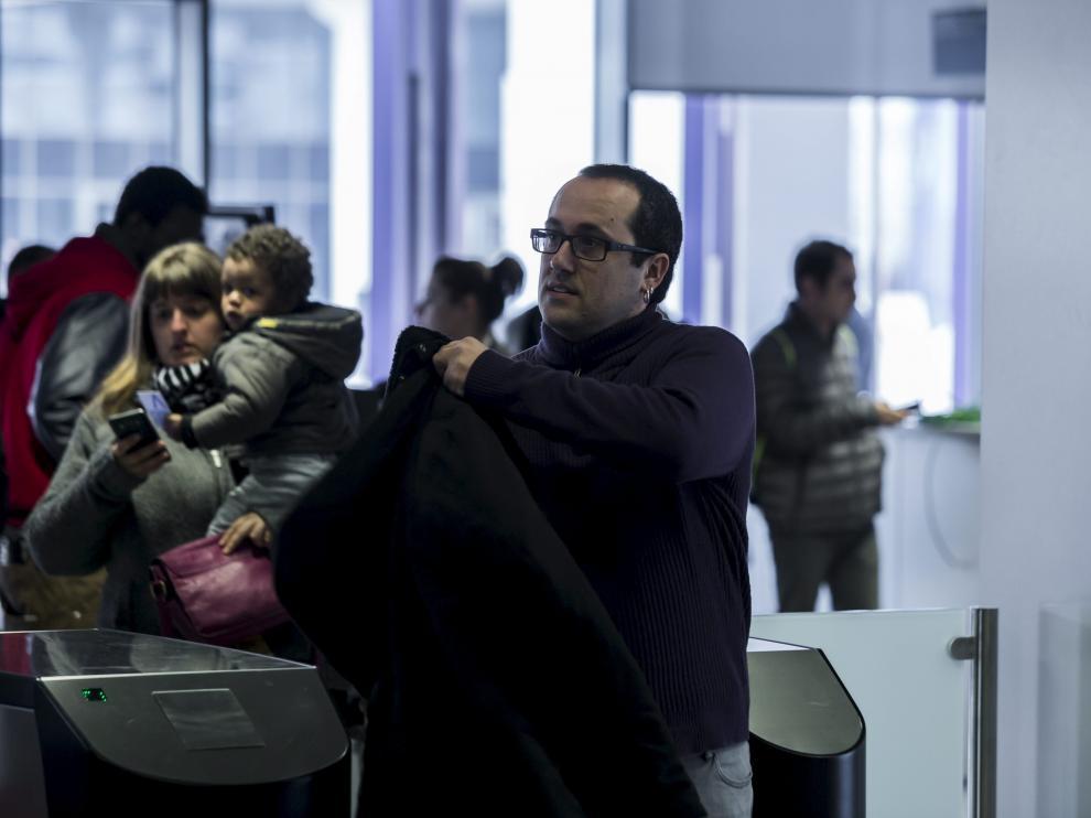 Alberto Cubero, el pasado mes de febrero, cuando declaró como imputado en los juzgados.