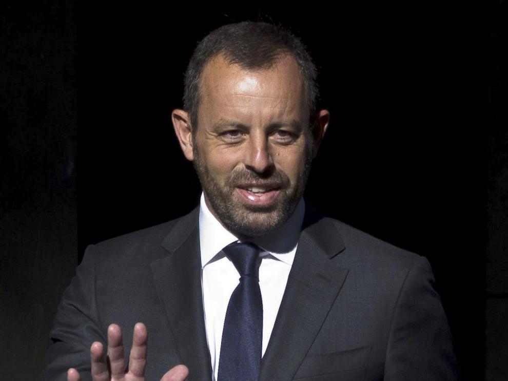 El expresidente del FC Barcelona Sandro Rosell, en una foto de archivo.