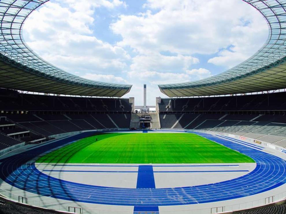 Estadio olímpico de Berlín.
