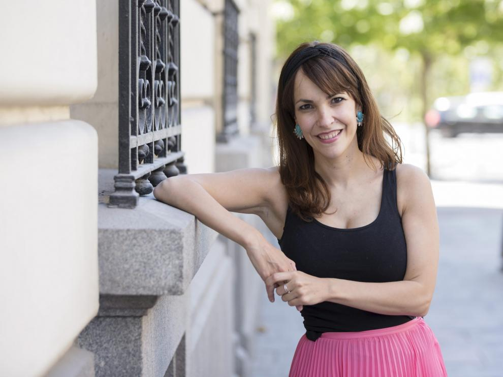 La realizadora zaragozana Paula Ortiz.