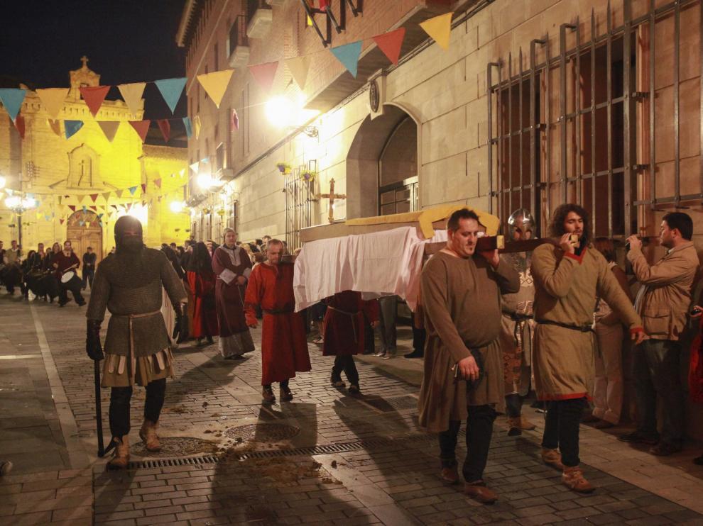 Huesca da una vuelta a su campana y adelanta los actos sobre la famosa leyenda al 7 de julio.