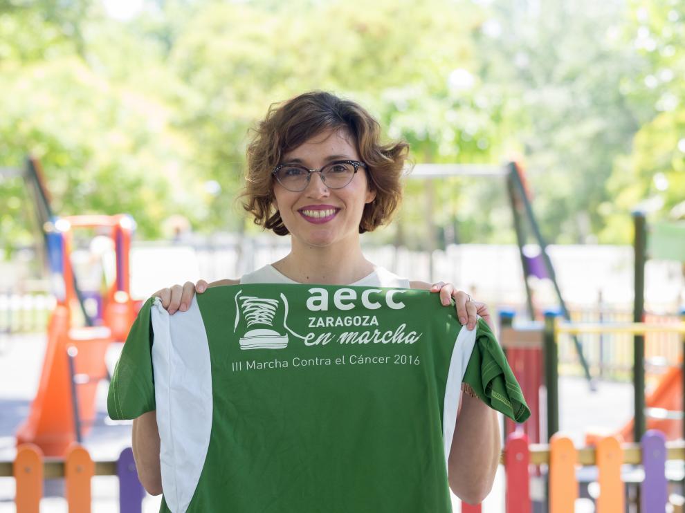 Sara López, psicóloga de la Asociación española contra el cáncer en Aragón (AECC).